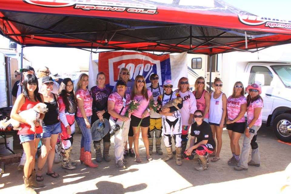 CALVMX ladies Supporting the Cause