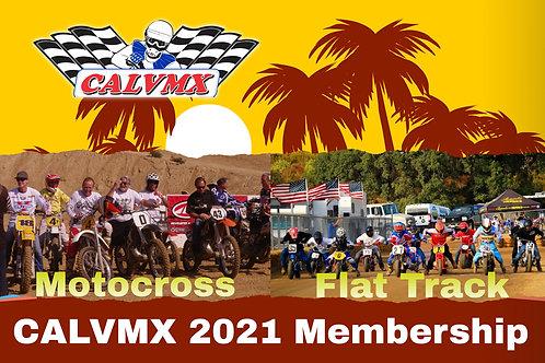 2021 CALVMX $65 Club Membership (must be picked up atShirts  races)