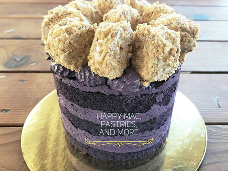 Ube Cake with Sanrival