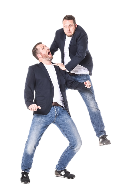 Comedy-Duo Die Zwillinge