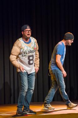 Die Zwillinge on stage