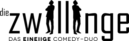 Comedy-Duo Die Zwillinge Logo