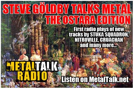 'MONTAGUE SUMMERS' debuts on METALTALK RADIO.