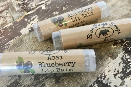 Acai Blueberry Lip Balm
