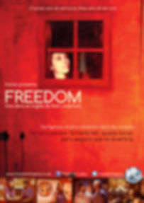 Freedom the play by Rick Limentani poster