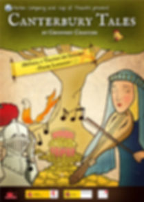 Canterbury Tales Play poster