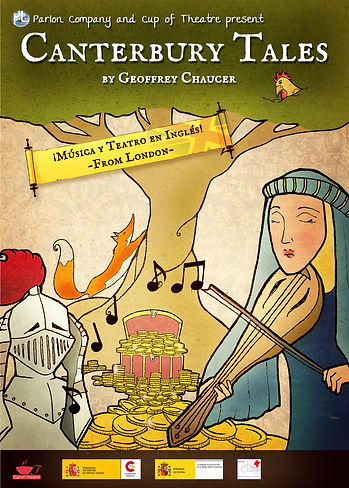 Canterbury Tales Play poster