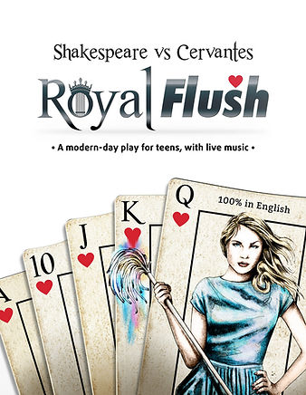 Royal Flush - Shakespeare vs Cervantes - musical theatre