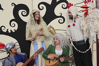 Canterbury Tales play cast childrens