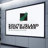 Sign broker Interior wall film