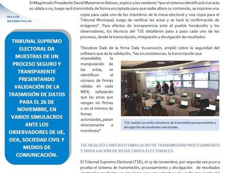Boletín Informativo No. 6