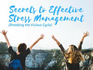 Secrets of Effective Stress Management