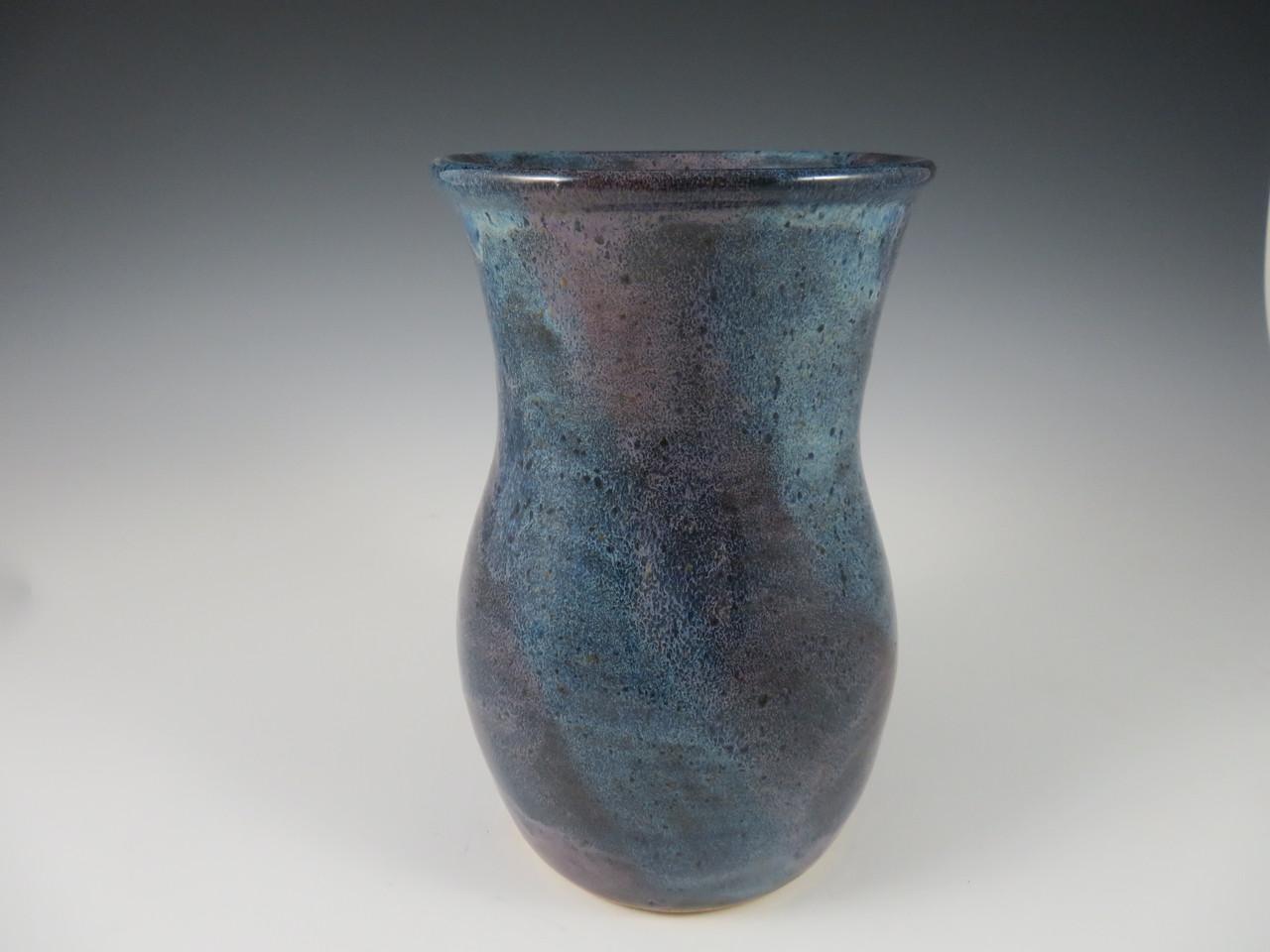 Vase in Blue & Lavender