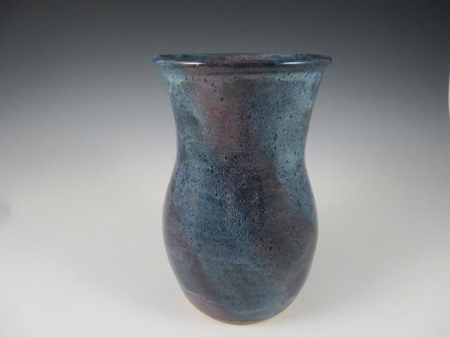 Vase in Rustic Blue & Lavender