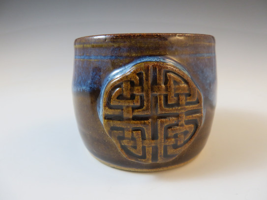 Tea Cup/Whiskey Cup w/Celtic Knot