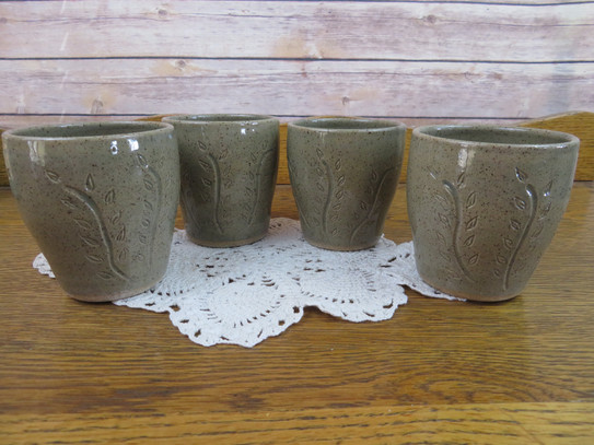 Wine Cups in Sage