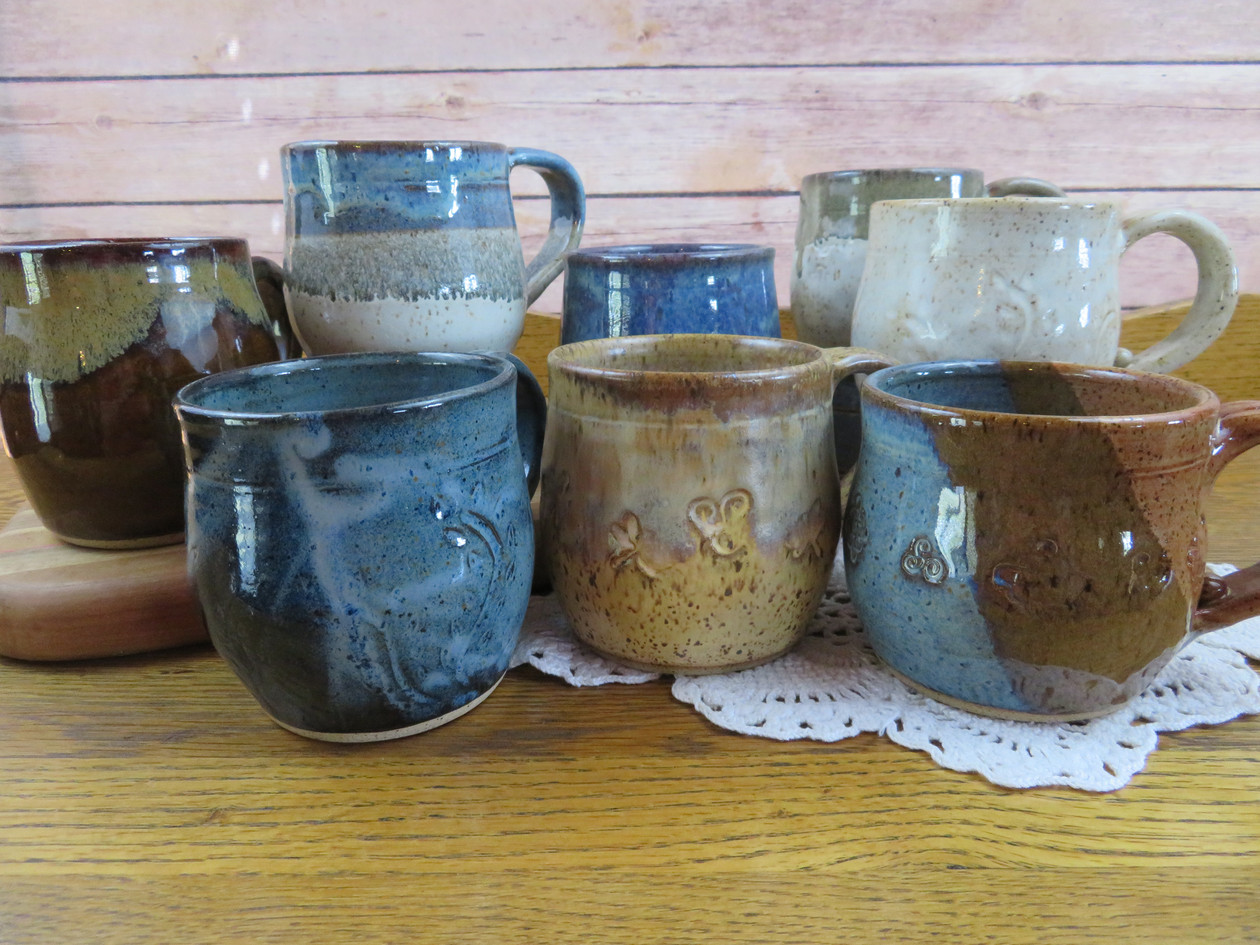 Assorted 12-14 oz Mugs
