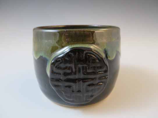 Tea Cup/Whiskey Cup with Celtic Knot