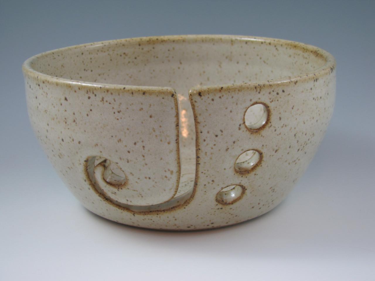 Yarn Bowl in Vanilla Spice