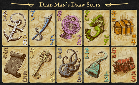Dead Man's Draw - Card Suits