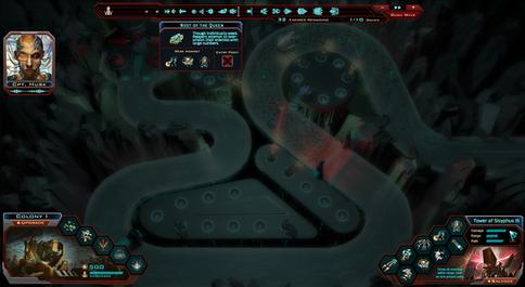 Siege of Centuari - Gameplay UI Concept