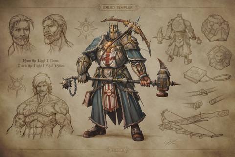 The Exiled Templar