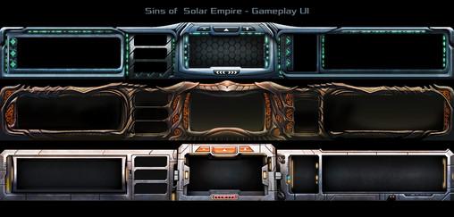 Sins of a Solar Empire - Faction UI