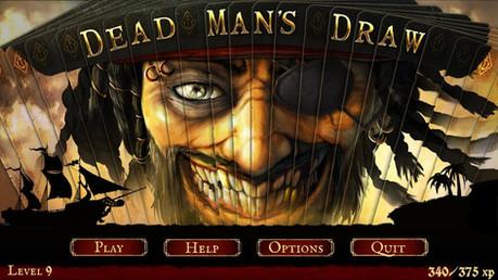 Dead Man's Draw - Title Screen