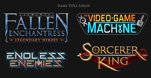 Game Title Logos