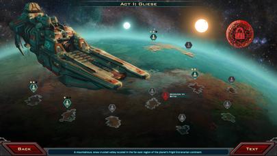 Siege of Centauri - Campaign UI Concept