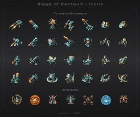 Siege of Centauri - Icons