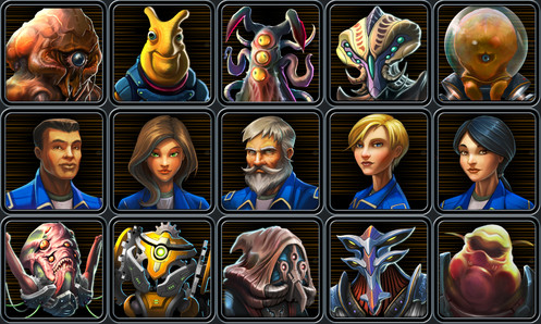 Star Control: Character Icons