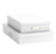 Bigso White Stockholm Office Storage Box