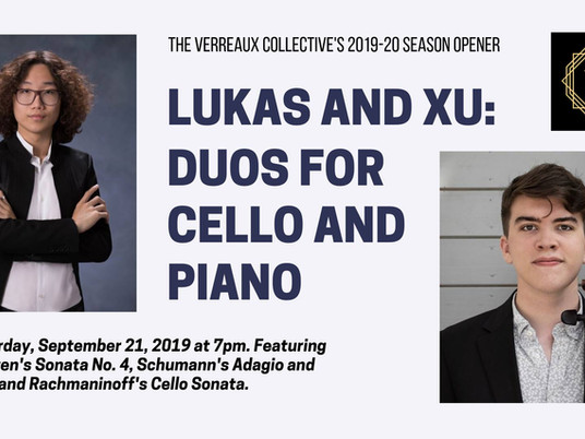 Q&A With Lukas & Xu