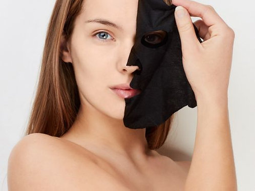 Charcoal Purifying Tissue Mask 5 pkg