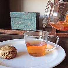 スコーン / 紅茶と蜜柑