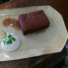 スパイシーチョコケーキ