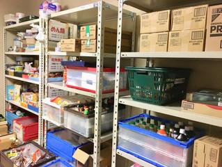 【更新】食糧庫に棚を新設しました