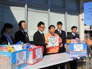 【報告】12/13フードリング(R)プロジェクト、キックオフセレモニー
