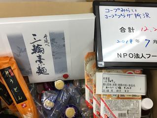 【提供レポート】食品提供ありがとうございます
