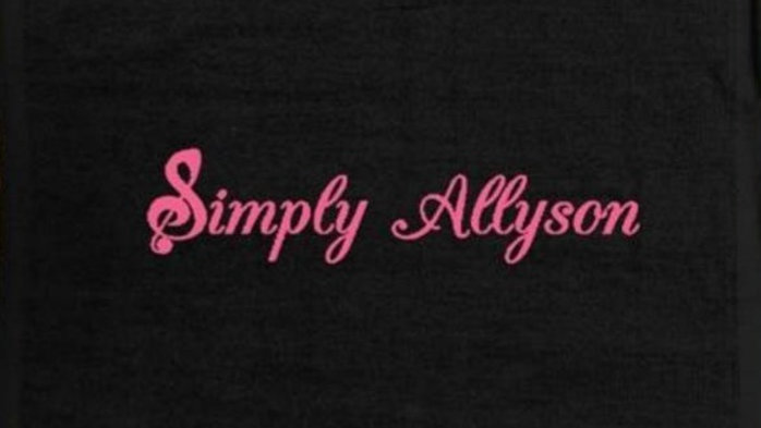 Simply Allyson - Towel