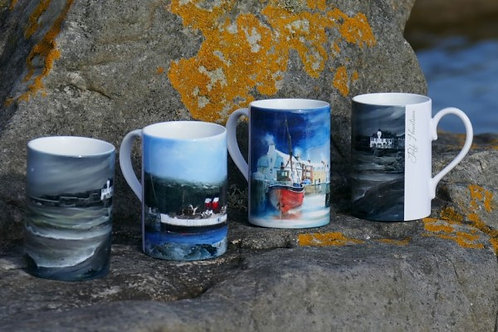 Pack of four different mugs