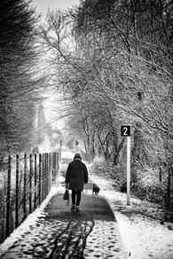 Winter, Liège.