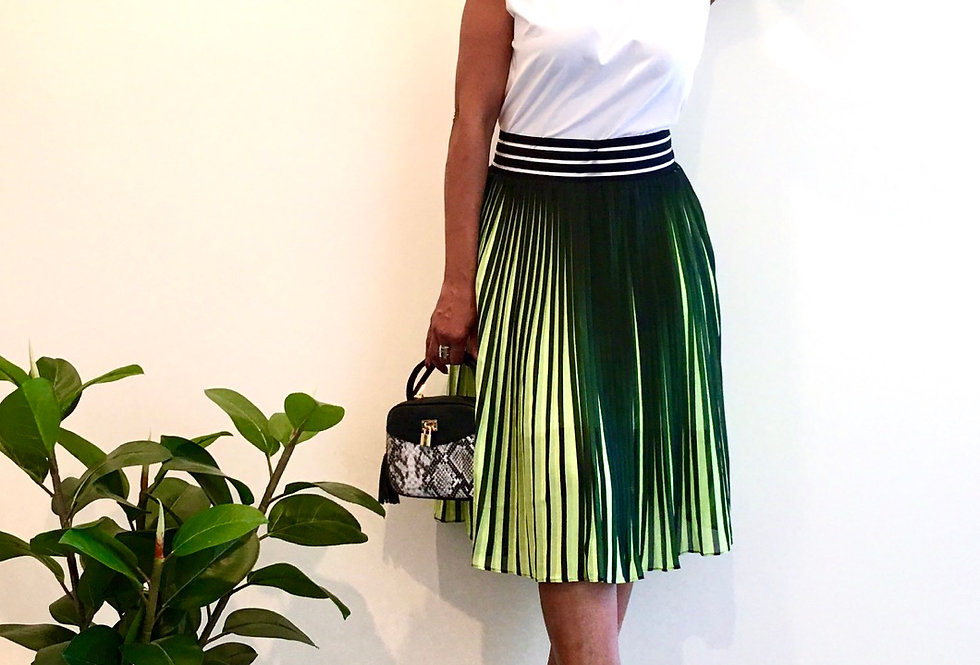 Pleat Me Out Skirt