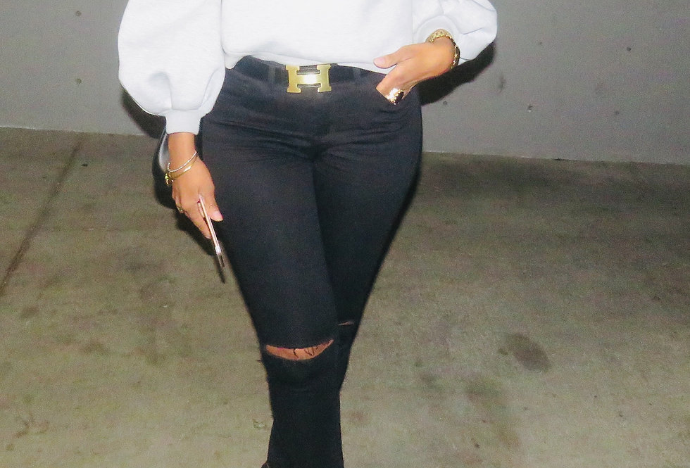 Knees Breathe Skinny Jeans