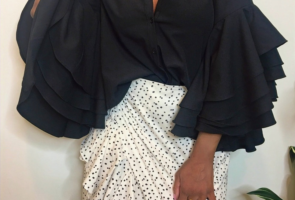 Lady J Bell Sleeve Top