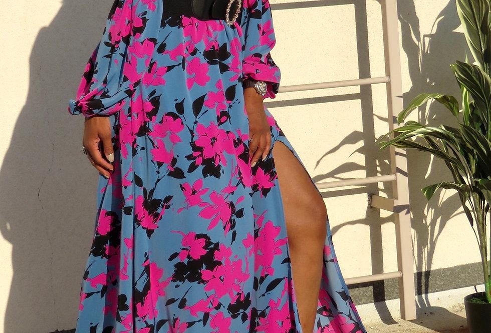 Blue Raspberry Dinner Dress