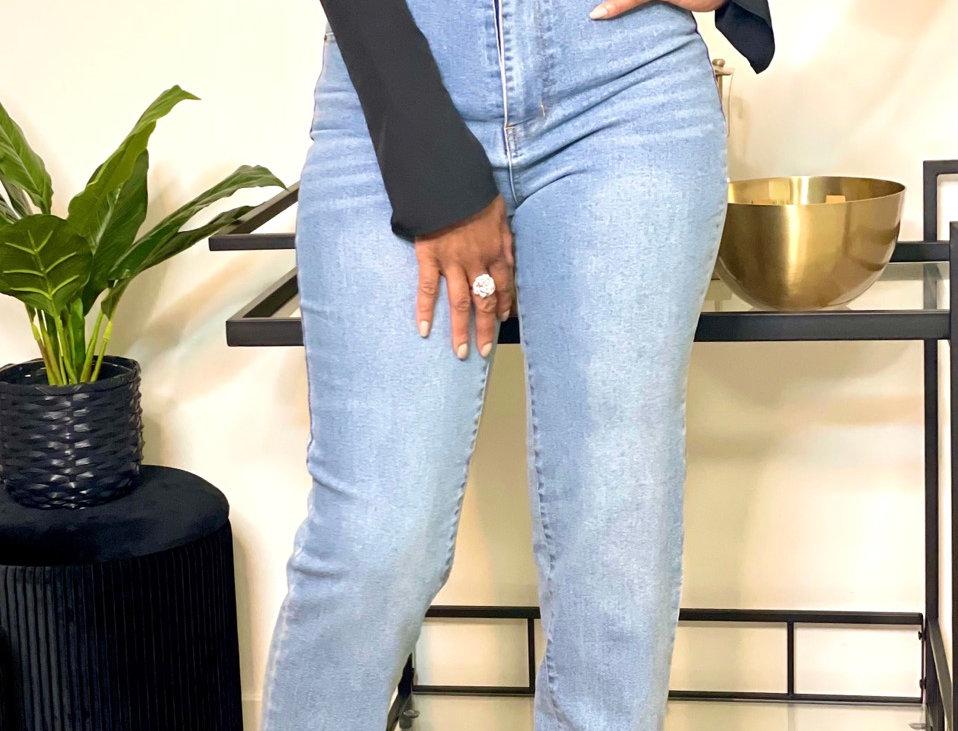 Yo Mama High-Waisted Jeans