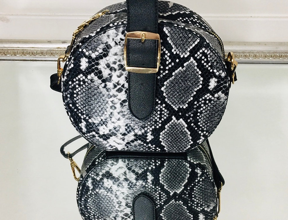 Snake-ish 2n1 Circle Bag