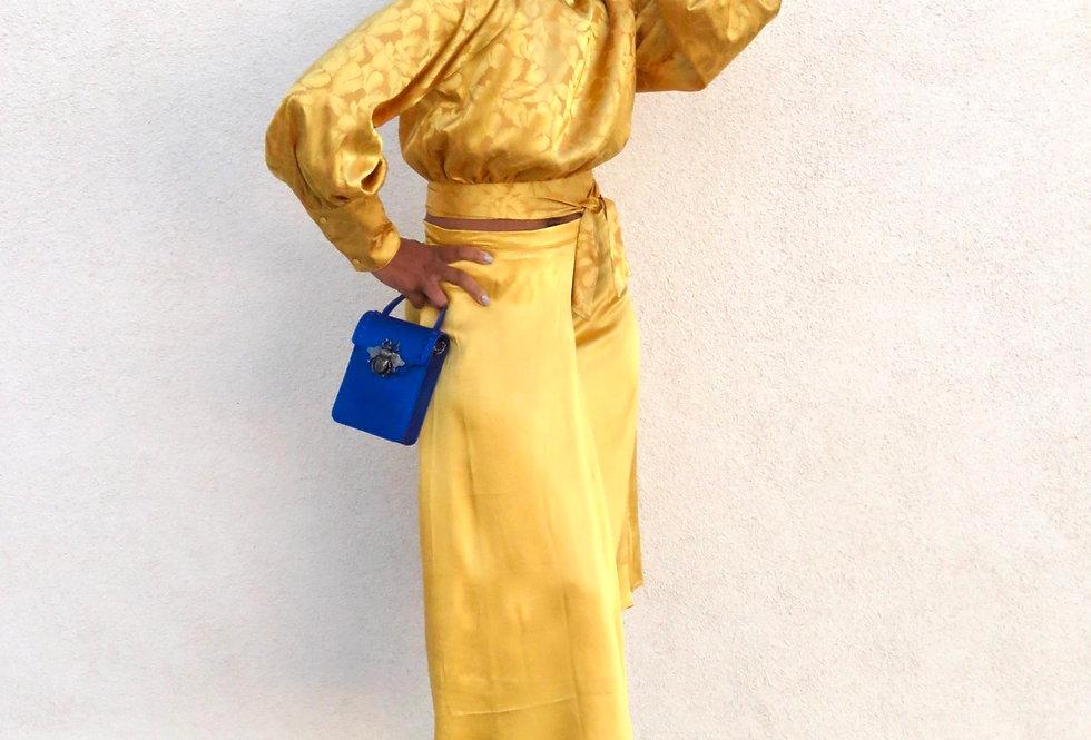 Vintage Glam 2 pc. Mustard Set